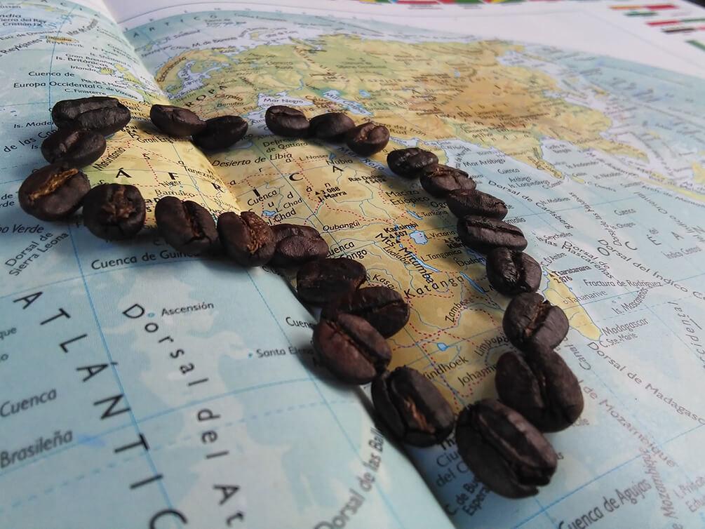 la historia del café, origen del café, descubrimiento del café, bebida